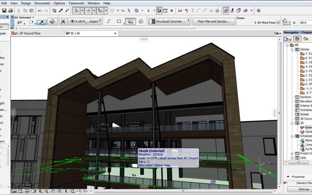 ARCHICAD 19 New Features – OPEN BIM – Enhanced Geometry Conversion Options for IFC Import