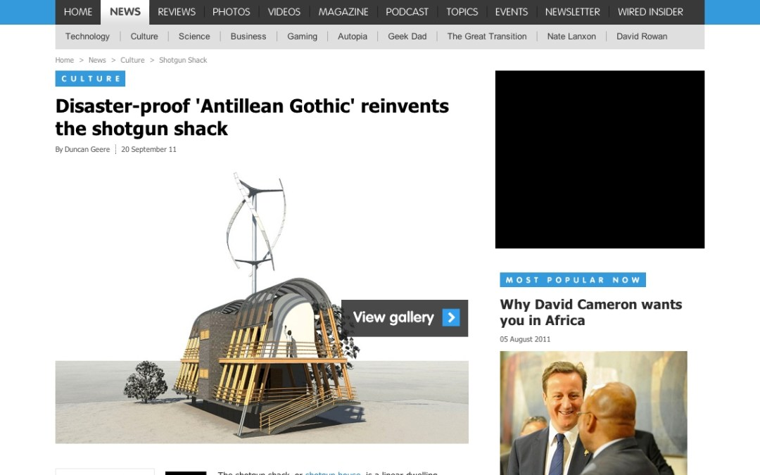 Antillean Gothic in the News