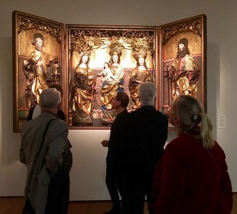 Callenberger Altar im GRASSI Museum für Angewandte Kunst | Foto: Schnuppe von Gwinner