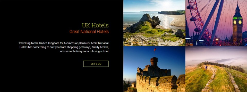 Ireland & UK Hotels Find Your Escape Great National Hotels uk - Mozilla Firefox