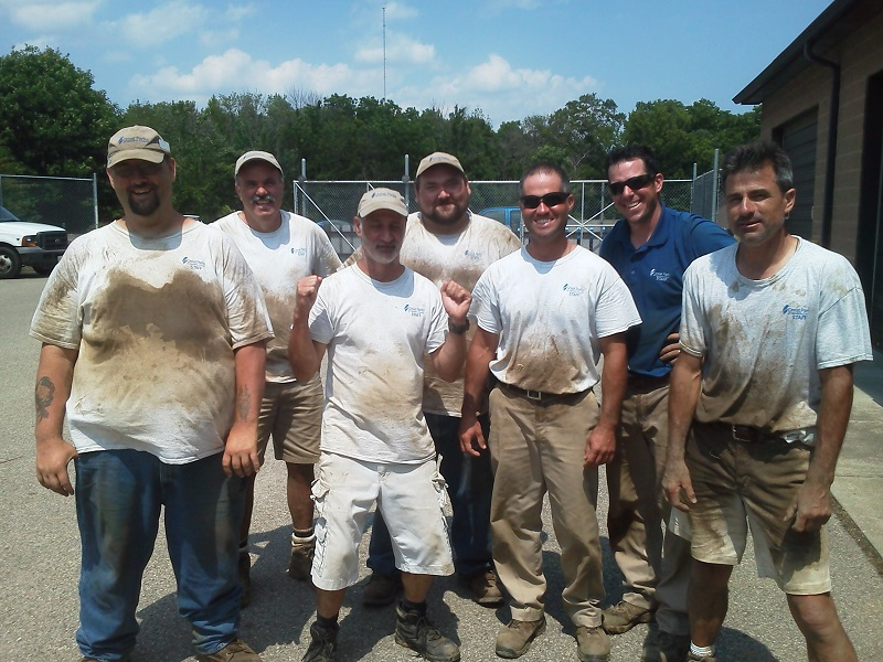 Sod Masters (from left to right): Delbert Hensley, Bill Weinel, Joe Adkins, Vernon Lawrence, Chris Fahner, Brady Abner and Ramon Capetillo. Not pictured: Dawn Werling, Eric Williams, Ralph Frye, Zhane' Broomfield and Matt King.