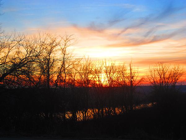 WoodlandMound_sunrise1_Steele