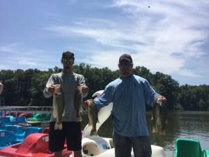 August 3 Bass Series Brian Alex Willwerth and Craig Stephany