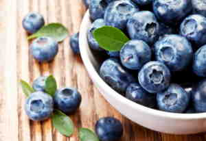 Blueberries: A Fresh Snack Before, During and After your Round.