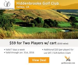 Golf Moose - Hiddenbrooke Golf Club - Golf Tee Times