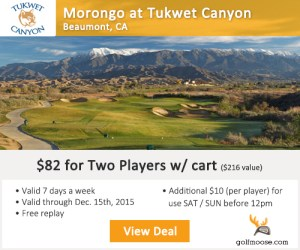Golf Moose - Morongo Golf Club at Tukwet Canyon - Golf Tee Times