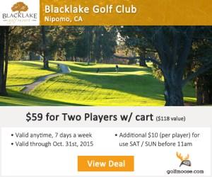 Golf Moose - Blacklake Golf Club Tee Times