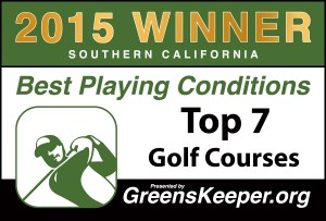 Greenskeeper.Org Top 7 Best Playing Conditions Awards 2015
