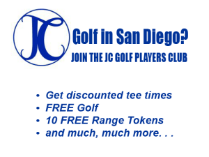 JC Golf Players Club Membership insert
