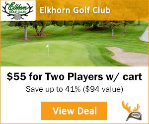 Golf Moose Elkhorn Golf Club Tee Time Special