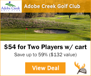 Golf Moose Adobe Creek Golf Club Tee Time Special