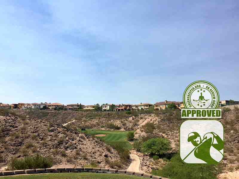 Rio Secco Golf Club Hole 15 view from tee