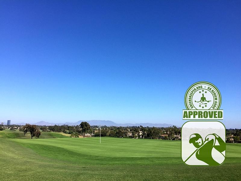 River Ridge Golf Club - Hole 16 greenside