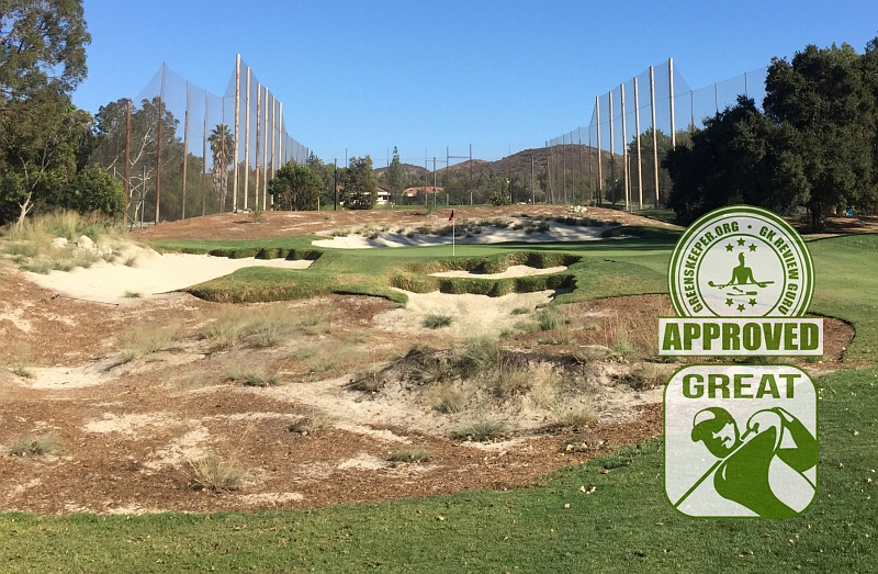 Los Robles Greens Golf Course Hole 9 Thousand Oaks CA