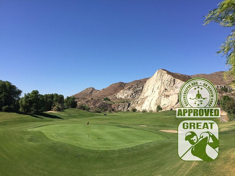 Oak Quarry Golf Club Hole 15 Riverside CA
