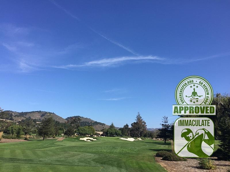 Quail Lodge & Golf Club Carmel CA. Hole 2
