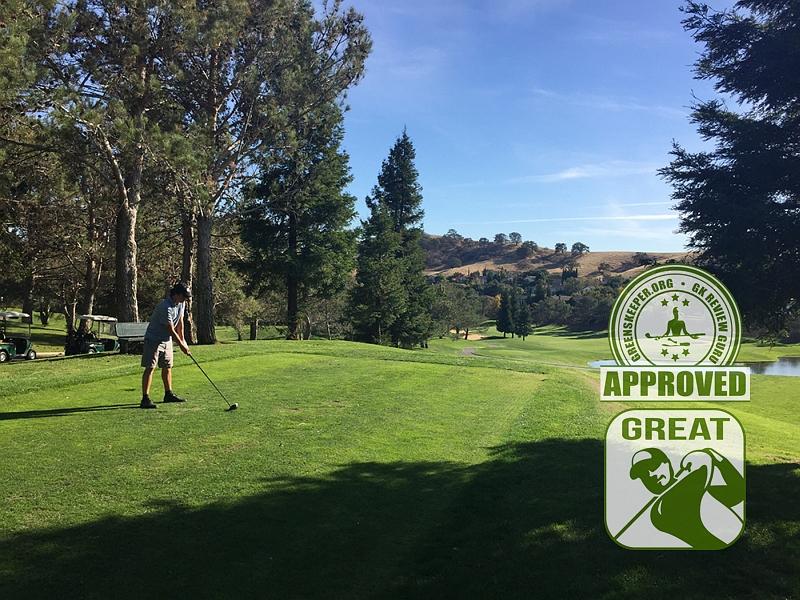Rancho Solano Golf Course Fairfield CA JohnnyGK Hole 10