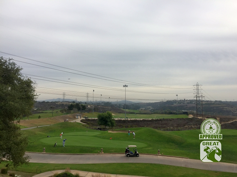 Crossings at Carlsbad Carlsbad, CA. View of ample practice putting area and range