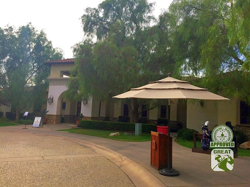Maderas Golf Club Poway, California. Bag Drop