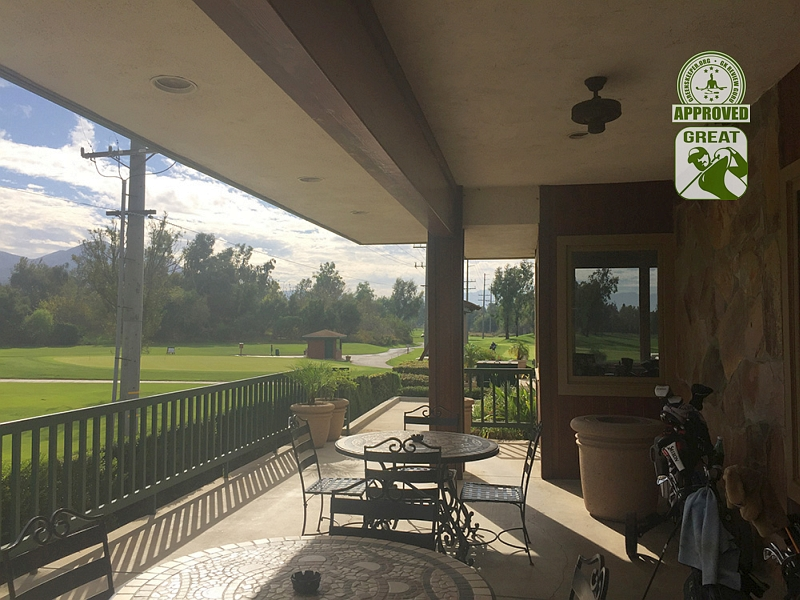 Goose Creek Golf Club Mira Loma California View from patio