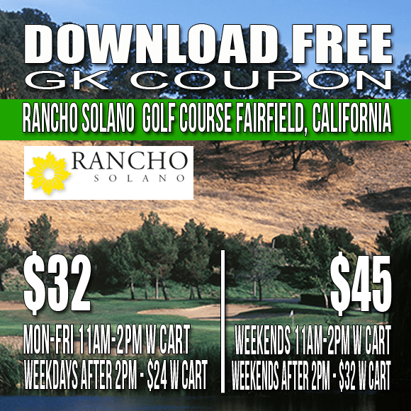 Rancho Solano Golf Course GK Coupon