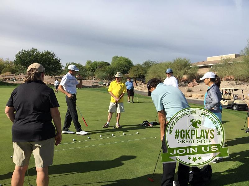 TPC Las Vegas Las Vegas, Nevada. Aimpoint clinic with PGA pro Matt