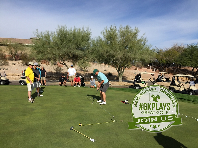 TPC Las Vegas Las Vegas, Nevada. Aimpoint clinic with PGA pro Matt. Trying out what we learned.