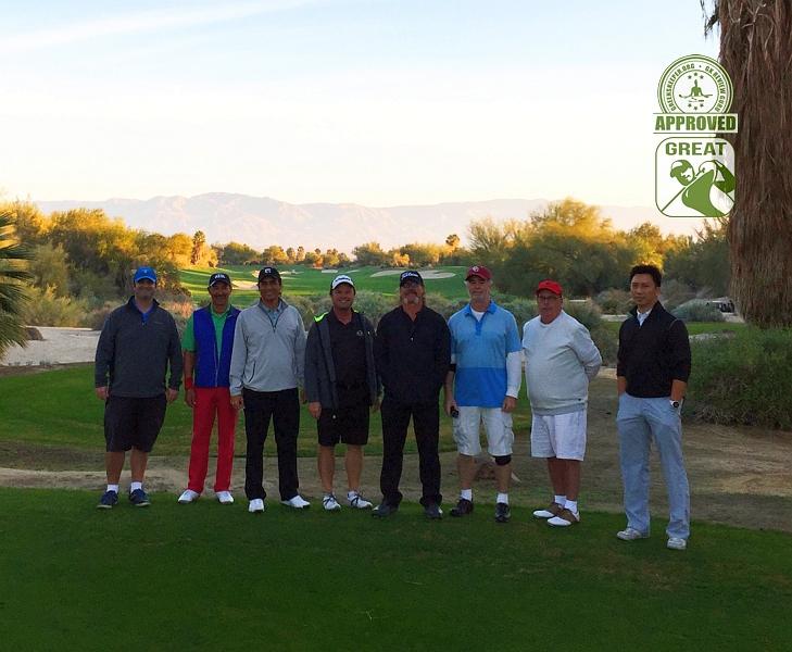 Desert Willow Golf Resort (FIRECLIFF) Palm Desert California. Dawn Patrol GK Review Gurus ready for what's in store