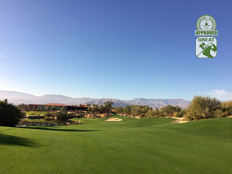Desert Willow Golf Resort (FIRECLIFF) Palm Desert California. Hole 9 Fairway