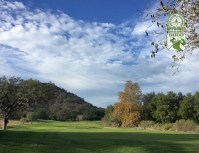 CrossCreek Golf Club Temecula California. Hole 4. View from Tee Box