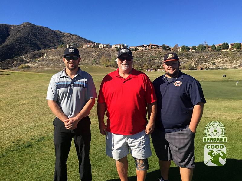 Champions Club at the Retreat Corona, California. GK Review Gurus (L to R) Apisarski, fastfish433 and Mpisarski