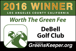 Worth the Green Fee 2016 for Los Angeles County - DeBell Golf Club