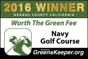 Worth the Green Fee 2016 for Orange County - Navy Golf Course