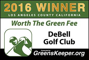 Greenskeeper.Org Worth the Green Fee Award 2016 - De Bell Golf Club
