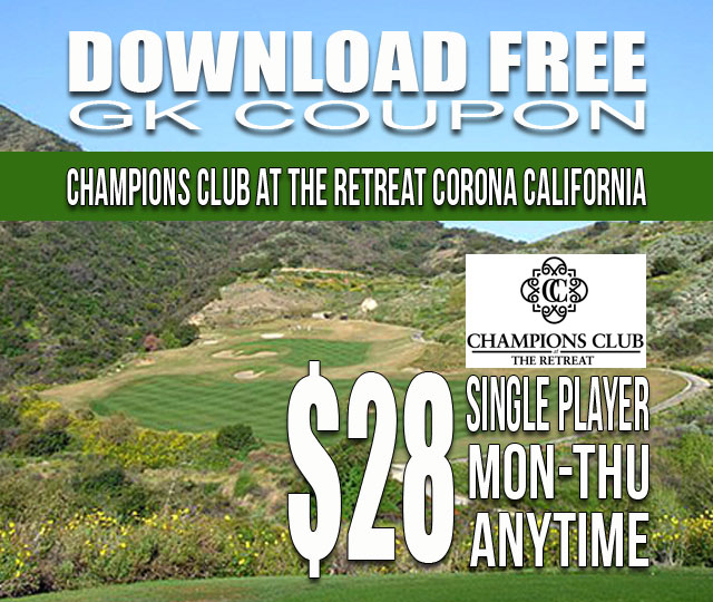Champions Club at the Retreat GK Coupon