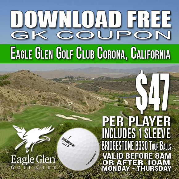 Eagle Glen Golf Club GK Coupon