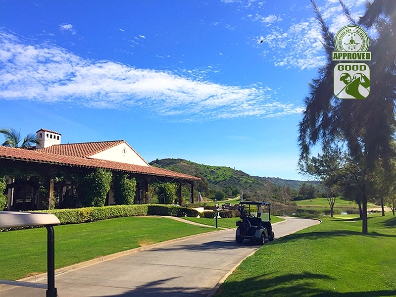 GK Review Gurus Visit Golf Club of California Fallbrook California Back of the Clubhouse