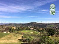 Golf Club of California Fallbrook California. Hole 8