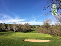 Golf Club of California Fallbrook California. Hole 9