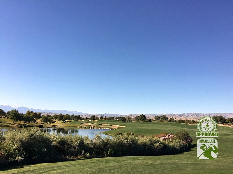 Classic Club Palm Desert California GK Review Guru Visit Hole 13