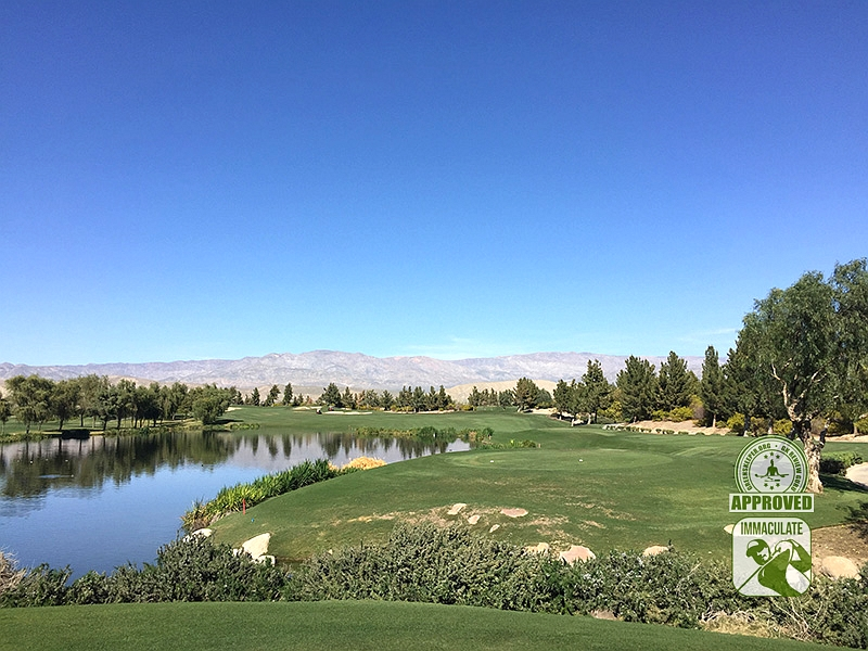 Classic Club Palm Desert California GK Review Guru Visit Hole 8