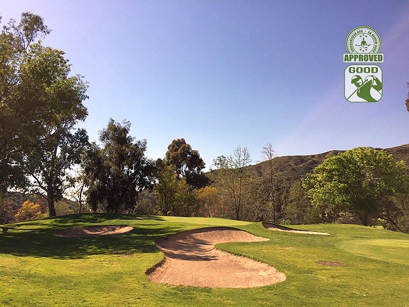 DeBell Golf Club Burbank California GK Review Guru Visit - Hole 16