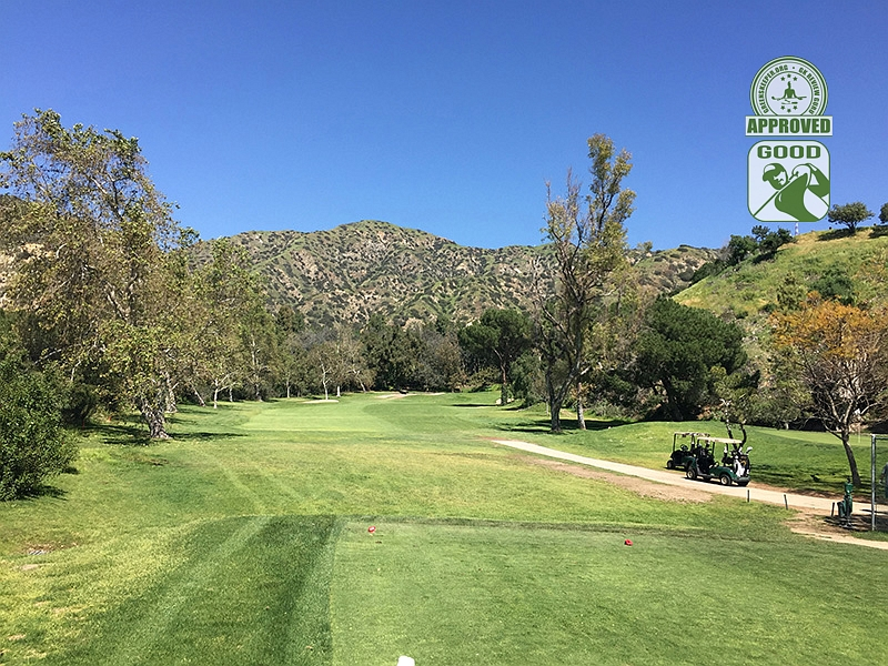 DeBell Golf Club Burbank California GK Review Guru Visit - Hole 9