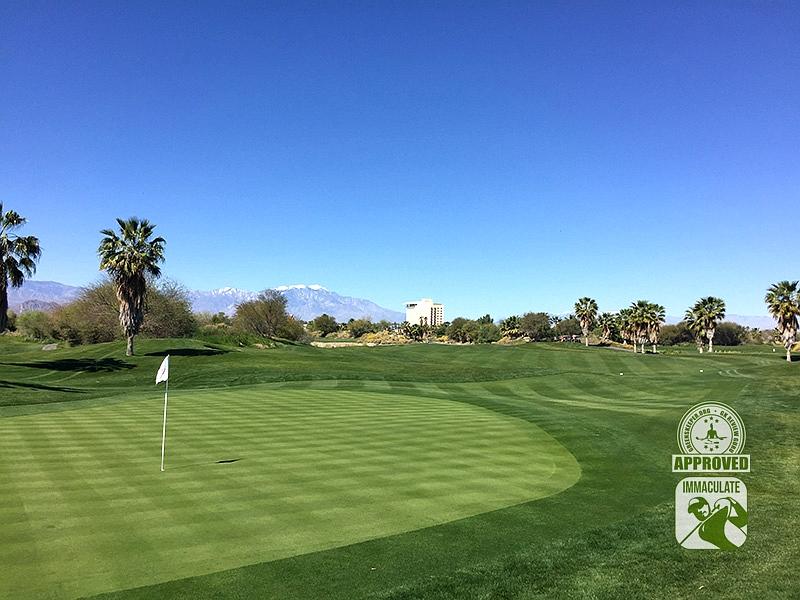 Eagle Falls Golf Course Indio California GK Review Guru Visit Hole 1