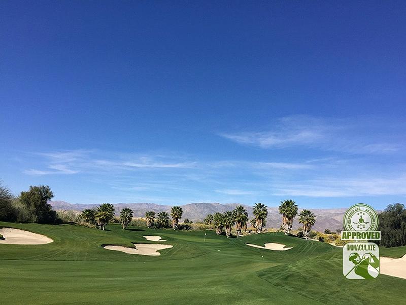 Eagle Falls Golf Course Indio California GK Review Guru Visit Hole 14