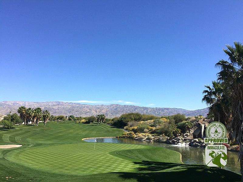 Eagle Falls Golf Course Indio California GK Review Guru Visit Hole 18