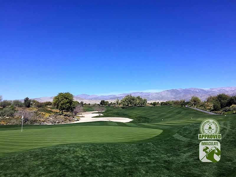 Eagle Falls Golf Course Indio California GK Review Guru Visit Hole 4