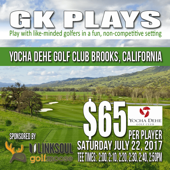 Yocha Dehe Golf Club Brooks California GK Plays Golf Tee Time Special