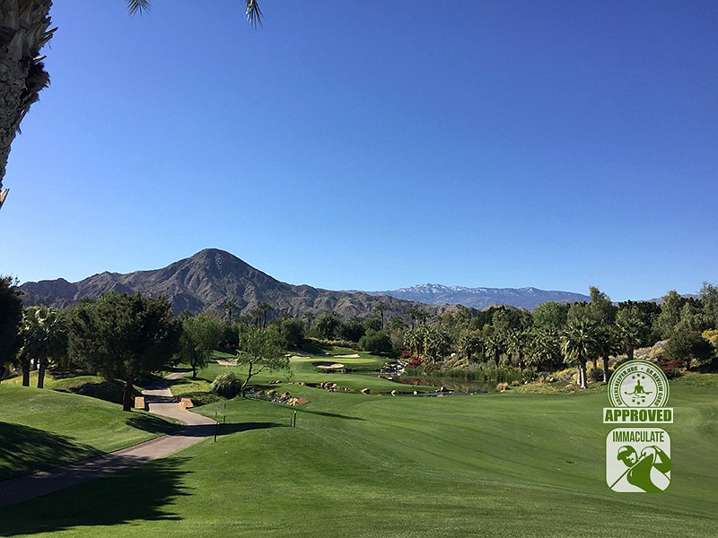 Indian Wells Golf Resort (CELEBRITY) Indian Wells California - Hole 14