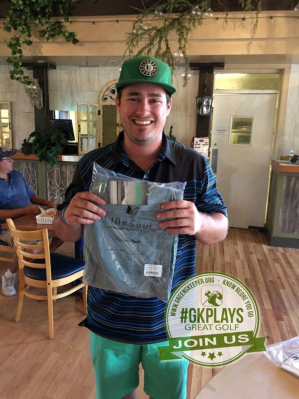Boulder Oaks Golf Club Escondido California Congrats to Greg wins LINKSOUL gear